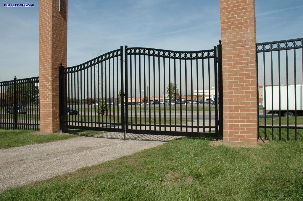Aluminum estate gates by elite discount fence supply