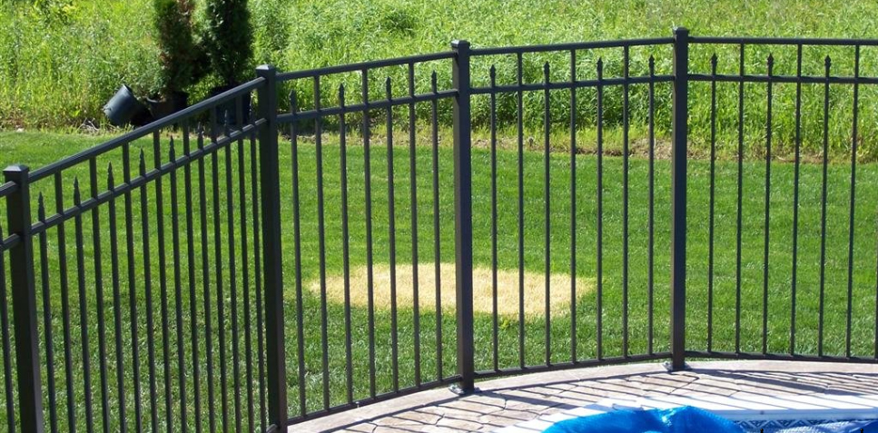 Eff 25 Elite Ornamental Aluminum Fence Discount Fence Supply