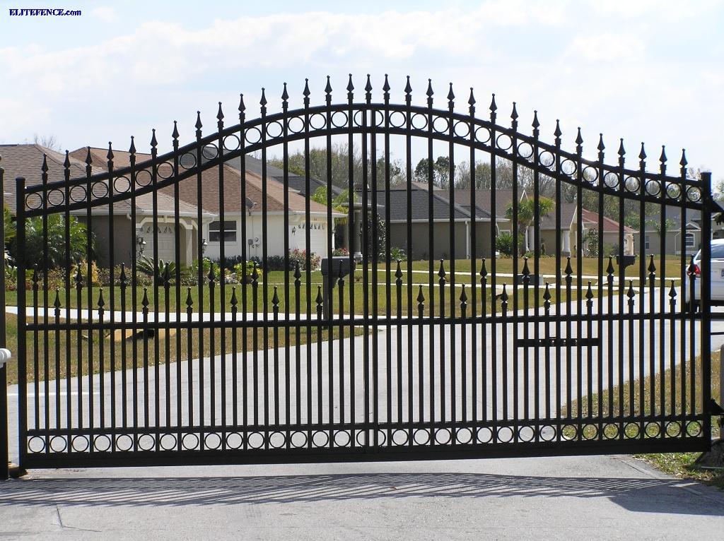 Aluminum estate gates by elite discount fence supply