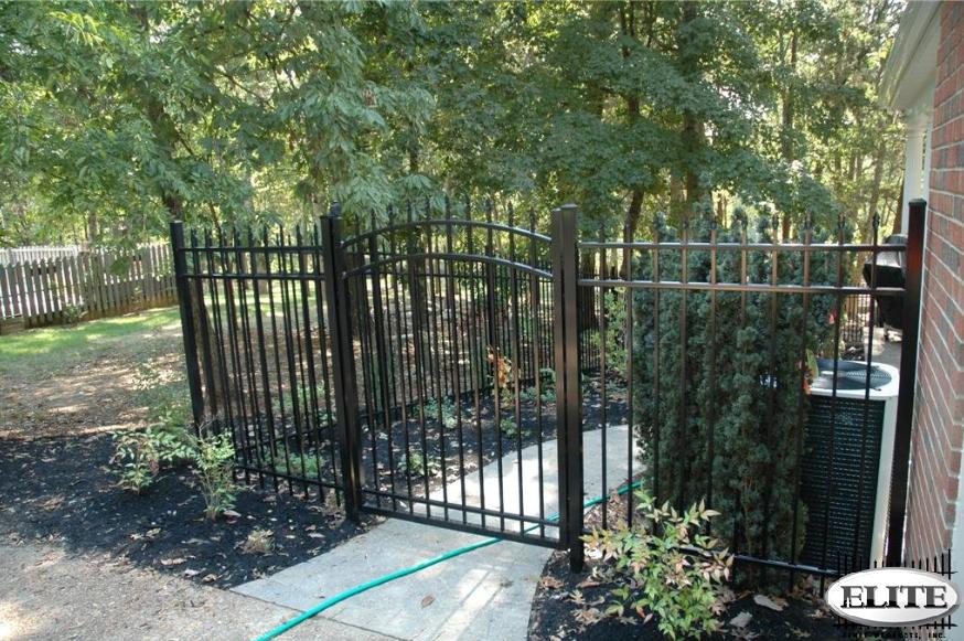 Efs elite ornamental aluminum fence discount supply