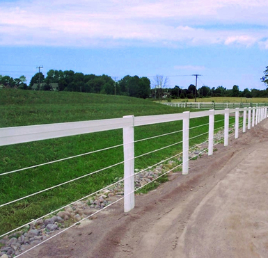 ELECTRIC FENCE: GREEN POLY ELECTRIC FENCE WIRE