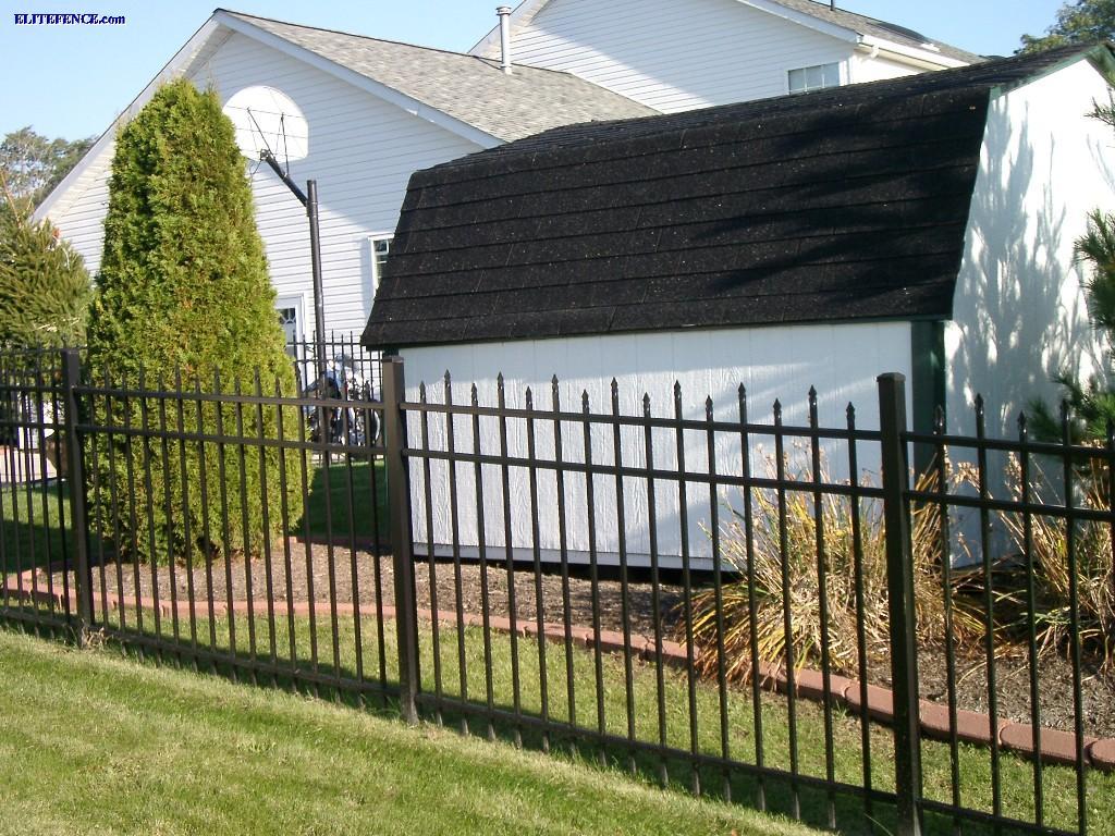 EFS 15 Style Aluminum Fence