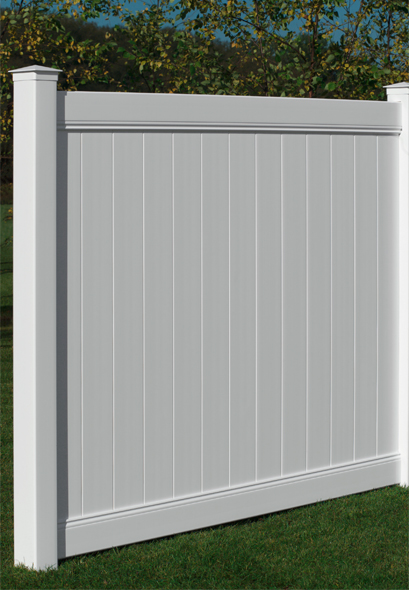 Vinyl Fence Chesterfield Smooth Vinyl Fence Lowest