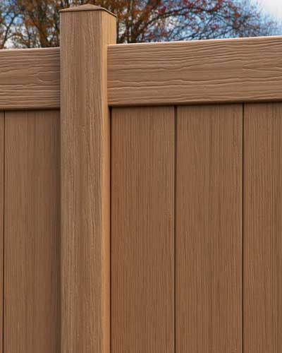 Chesterfield CertaGrain Sierra Blend Vinyl Privacy Fence