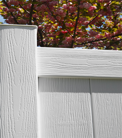 colonial white certagrain bufftech fence