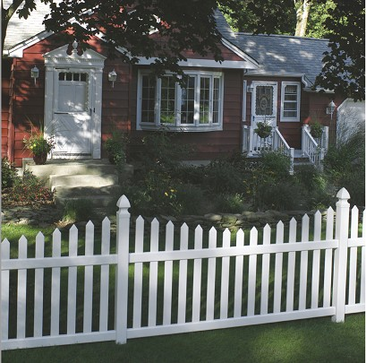 Bufftech Danbury Concave Vinyl Fence Discount Fence Supply