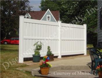 The Millbrook Vinyl Fence