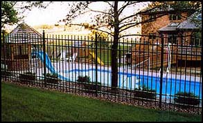 Jerith Ornamental Fences of Distinction Pool Fence