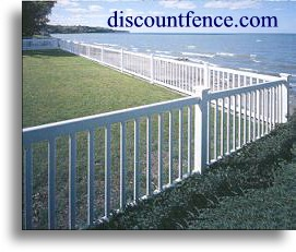 The Lexington Privacy vinyl fence offers the same tongue and groove construction with a more competitive price.
