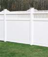 Huntington Privacy Vinyl Fence