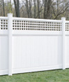 Westminster Privacy Vinyl Fence