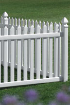 Danbury Bufftech Vinyl Fencing