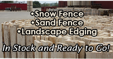 Wooden Snow and Sand Fence for beaches and street liner