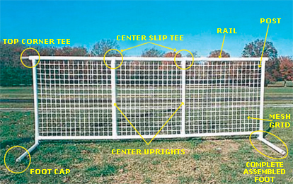 Sports Fencing By Discount Fence Supply Inc