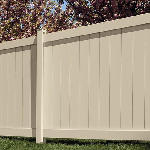 Vinyl Fence By Bufftech The Largest Supplier Of Vinyl