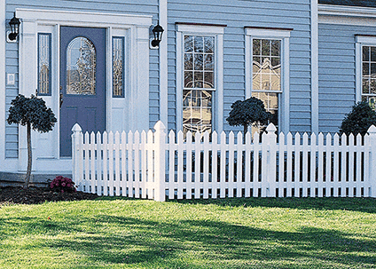 Bufftech Cape Cod Vinyl Fence Discount Fence Supply