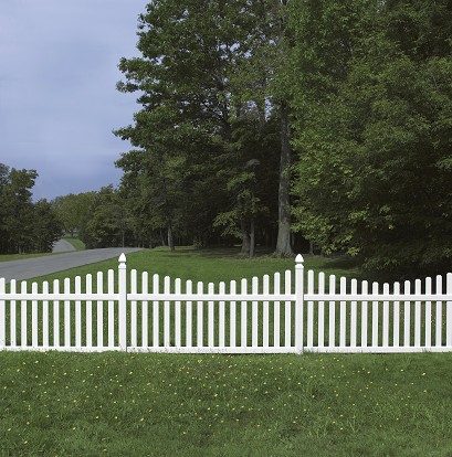 Bufftech Rothbury Concave Vinyl Fence Lowest Price Available
