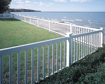 Victorian Contemporary Vinyl Fence By Bufftech Discount